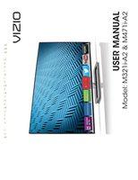 VIZIO m321ia2om Operating Manuals