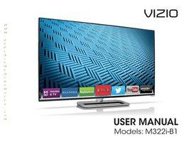VIZIO m322ib1om Operating Manuals