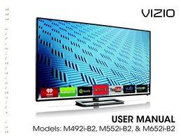 VIZIO m652ib2om Operating Manuals