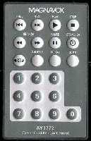 Magnavox ay3772 Remote Controls