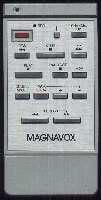 Magnavox vsqs0079 Remote Controls