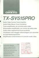 ONKYO rc252som Operating Manuals