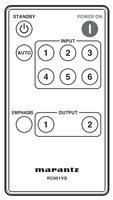 MARANTZ rc001vs Remote Controls