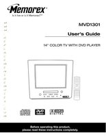 MEMOREX MVD1301OM Operating Manuals