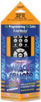 Miracle Remote MR140 JVC Remote Controls