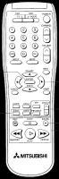 MITSUBISHI 290p080c30 Remote Controls