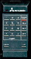 MITSUBISHI 939P033B4 Remote Controls