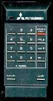 MITSUBISHI 939P03307 Remote Controls