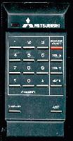 MITSUBISHI 939P0540A2 Remote Controls