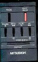 MITSUBISHI 939P452010 Remote Controls