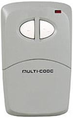 Multi-Elmac 4120 visor size 2btn remote Garage Door Openers