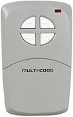 Multi-Elmac 4140 visor size 4btn remote Garage Door Openers