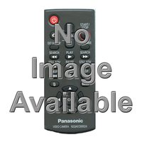 Panasonic EUR571506 Remote Controls