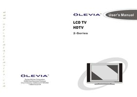 Olevia tv 537h manual.