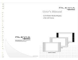 Olevia lt27hvxom Operating Manuals