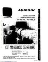 Quasar VV2706OM Operating Manuals