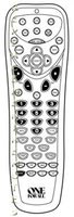 ONE-FOR-ALL URC6017 Remote Controls