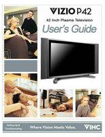 VIZIO p42om Operating Manuals