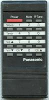 Panasonic eur50174 Remote Controls