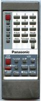 Panasonic EUR50324 Remote Controls
