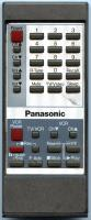 Panasonic eur50328 Remote Controls