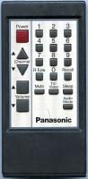 Panasonic eur50379 Remote Controls