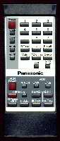 Panasonic eur50423 Remote Controls