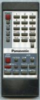 Panasonic eur50424 Remote Controls