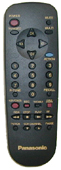 Panasonic eur511001 Remote Controls