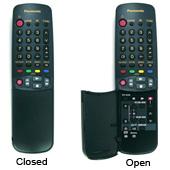 Panasonic eur51973 Remote Controls