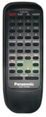 Panasonic eur644854 Remote Controls