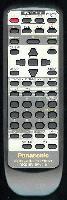 Panasonic eur647131 Remote Controls