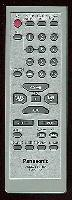 Panasonic eur7711020 Remote Controls