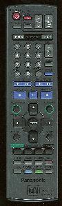 Panasonic eur7721kg0 Remote Controls