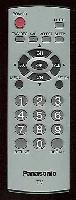 Panasonic eur7726020 Remote Controls