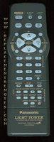 Panasonic lssq0341rp Remote Controls