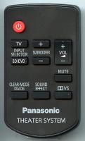 Panasonic n2qayc000027 Remote Controls