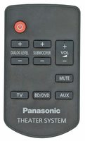 Panasonic N2QAYC000064 Remote Controls