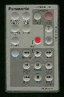 Panasonic vsqw0044 Remote Controls