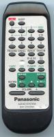Panasonic rakch943wk Remote Controls