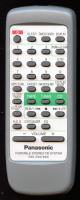 Panasonic rakrx979wk Remote Controls