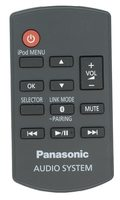 Panasonic raksc989zm Remote Controls