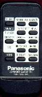 Panasonic rakrx929wk Remote Controls