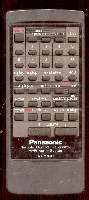 Panasonic raksg301pm Remote Controls