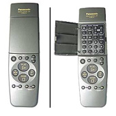 Panasonic nvhd750am Remote Controls