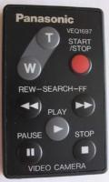 Panasonic veq1697 Remote Controls