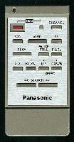 Panasonic vsqs0087 Remote Controls