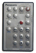 Panasonic vsqs1510 Remote Controls