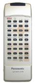Panasonic yefx9992255 Remote Controls