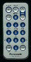 Panasonic yefx9992663 Remote Controls